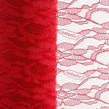 """6""""x10yards Lace Net Roll Runner Mesh Chair Sash Ties Wedding Party Table Decor"""