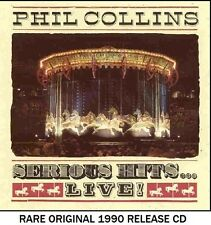 Phil Collins - Very Best Greatest Hits Collection Live - RARE 1990 CD (Genesis)