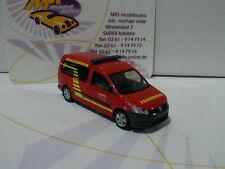 Rietze 52708 # VW Caddy Maxi'11 Baujahr 2009 Werkfeuerwehr Siemens Erlangen 1:87