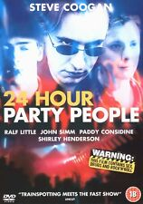 MUSIC DRAMA DVD – 24 HOUR PARTY PEOPLE – JOY DIVISION & THE HAPPY MONDAYS