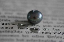 Tipit M -Antrazit Perle mit 2 kleinen Silberschalen