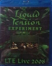 Liquid Tension - Experiment LTE Live 2008 / Blu-Ray Disc New Sealed