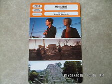 CARTE FICHE CINEMA 2010 MONSTERS Scoot McNairy Whitney Able