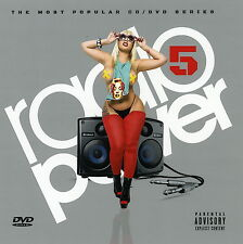 Radio Power #5 Various Artists DvD & CD Sealed 2016 (Mix CD) Rap R&B Pop Hip Hop