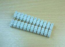 Expo A23040  - 6 x Pairs of 12 Plugable 8mm Plastic Terminal Blocks - 2nd Class