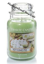 Yankee Candle Key Lime Pie 22oz Large Jar - Rare USA Yellow Label