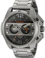 NWT Diesel  DZ4363 Ironside Gunmetal Chronograph Men's Watch $300