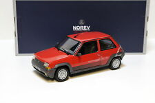 1:18 Norev Renault Supercinq GT Turbo 1989 - red NEW bei PREMIUM-MODELCARS