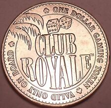 Unc Club Royale $1.00 Gaming Token~The Ship That Sank After 1 Month~Free Ship