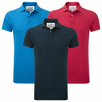 Charles Wilson Men's Premium Cotton Plain Pique Polo Shirt T-Shirt Tee Top SS15