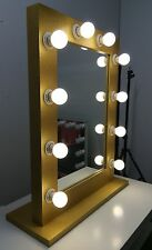GOLD - Hollywood Makeup Mirror with lights, Vanity Make Up Beauty Mirror