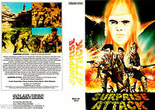VHS - Surprise ATTACK ( War-Time - Angriff im Morgengrauen ) (1970) Simon Andrew