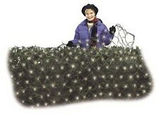 (12) Holiday Wonder 47893-88 70 Ct 4' x 6' Cool White Micro LED Net Light Sets