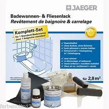 Jaeger Badewannenlack-Set für 2,8m² reinweiss RAL 9010