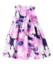 GYMBOREE Egg Hunt Baby Girl Purple Watercolor Floral Dress Set Size 18-24 M NWT