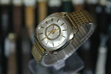1970 BULOVA ACCUTRON Mark II 14K Gold Filled Tuning Fork Men's Dress Watch