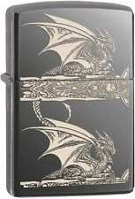 Zippo Windproof Anne Stokes Gothic Dragon Lighter, 28961, New In Box