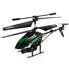 Blackish Green V398 RC Removed Control Helicopter 3.5 Channel Built-in Gyro AUS