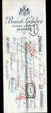 """SAINT-HILAIRE-SAINT-FLORENT & EPERNAY (49 / 51) VINS """"BOUVET & LADUBAY"""" en 1904"""