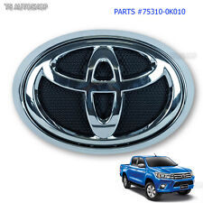 Toyota Hilux Revo Sr5 2015 2016 Front Grille Grill Emblem Logo Chome Genuine