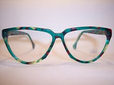 Damen-Brille/Eyeglasses/Lunettes by ENRICO COVERI 100%Vintage Original 90'er