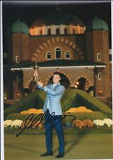 Martin KAYMER SIGNED Autograph 12x8 Photo AFTAL COA 2012 Ryder Cup Held Aloft
