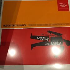 DUKE ELLINGTON - Anatomy Of A Murder Soundtrack - On Orange Vinyl (LP) Brand New