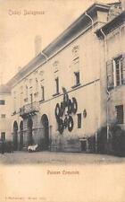 3211) CASTEL BOLOGNESE (RAVENNA) PALAZZO COMUNALE. VIAGGIATA 1901.
