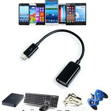 Micro USB  OTG Adapter Cable Cord Lead For HP TouchPad Slate Android Tablet_x9