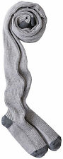 HANNA ANDERSSON Glitter Ribbed Tights Heather Grey 130 140 8 10 NWT