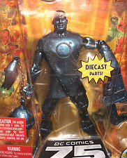 DC Universe: Metal Men: IRON figure - RARE (batman/mercury/gold/darkseid/baf)