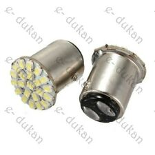 2 x 22 SMD white LED  bulb, brake/back light parking Car Bike- white