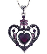 Heart Necklace Valentine's Day Gift For Mom Girl Friend Wife Fiancee n2070p