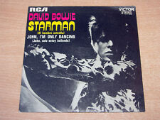 "EX !! David Bowie/Starman/1978 RCA Victor 7"" Single/Spanish"