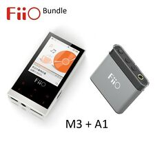 Fiio M3 portable lossless music (flac/WAV/MP3) player + A1 headphone amp bundle