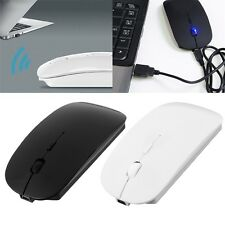 Portable Rechargeable Bluetooth 3.0 Wireless Mouse For Laptop PC Tablets CA
