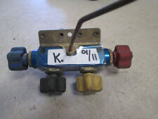 Used Imperial Valve Header for Refrigerant Recycling System, Poor Cond.