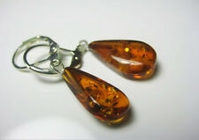 GENUINE AMBER   EARRINGS