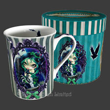 *PERCHED & SAT & NOTHING MORE* Strangeling China Mug By Jasmine Becket-Griffith