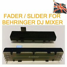 Fader Slider for BEHRINGER DJ mixer Replacement Stereo unit A100kx2 Dual 72mm