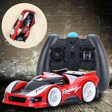Red Wall Floor Climber Climbing RC Racer Remote Control Racing Car Kid Toy FY350