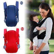 Comfort Adjustable Newborn Baby Infant Carrier Backpack Front Back Sling Wrap