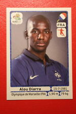 Panini EURO 2012 N. 471 FRANCE DIARRA  NEW With BLACK BACK TOPMINT!!