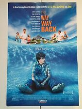 THE WAY WAY BACK 13.5x20 PROMO MOVIE POSTER