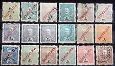 Portugal Kolonien India IV Lot mit alten Werten um 1900