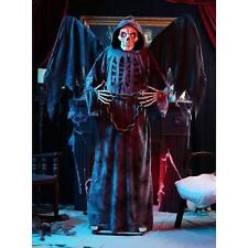 Grim Reaper 72 In. Winged Angel Of Death Spooky LED Illumination Halloween NEW