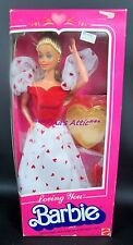 Vintage 1983 LOVING YOU Barbie Doll #7072 ~ Heart Dress