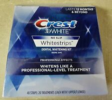 Crest 3D Whitestrips Professional Effects 40 Strips 20 Treatments 11/2018