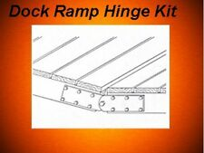 Floating Boat Dock Hardware Bracket Ramp Hinge Kit 480