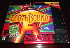 [NO GAME]   EarthBound   (SNES, 1995)   BIG BOX ONLY, NOTHING ELSE IS INCLUDED